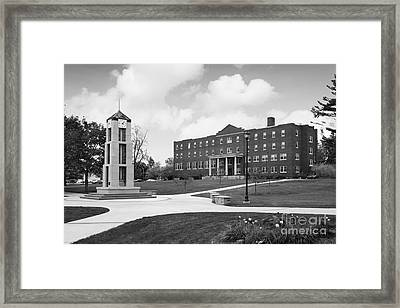 Roberts Wesleyan College Rinker Center  Framed Print by University Icons