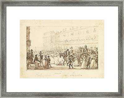 Robespierre And His Accomplices Framed Print by Celestial Images