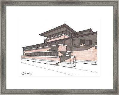 Robie House Framed Print