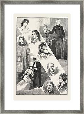 Robin Goodfellow, The New Play At The Garrick Theatre 1 Framed Print by English School