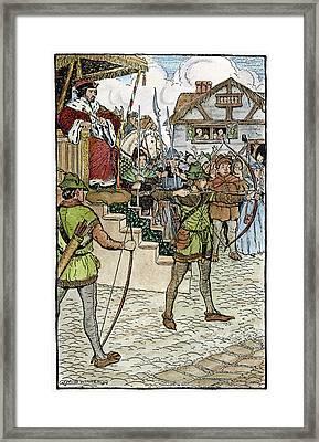Robin Hood, 1914 Framed Print by Granger