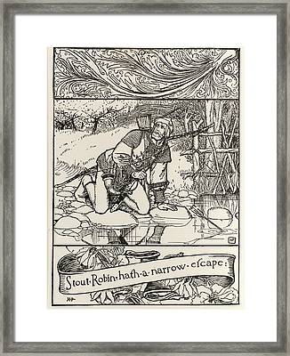 Robin Hood Framed Print by British Library