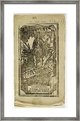 Robinson Crusoe Framed Print