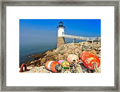 Robinson Point Lighthouse Framed Print