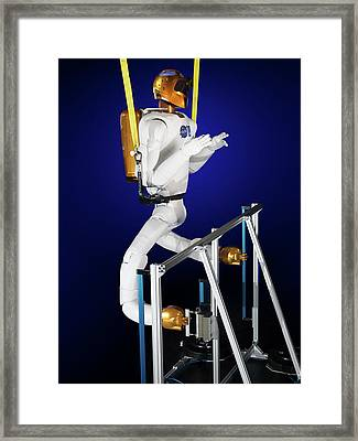 Robonaut 2 Research Laboratory Framed Print by Nasa, Bill Stafford And James Blair