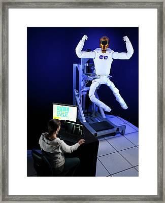 Robonaut 2 Research Laboratory Framed Print