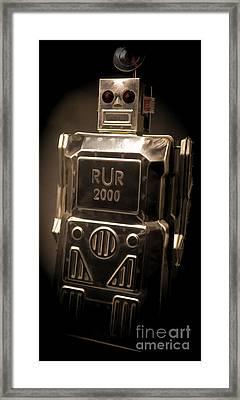 Robot Rur 2000 Framed Print by Edward Fielding