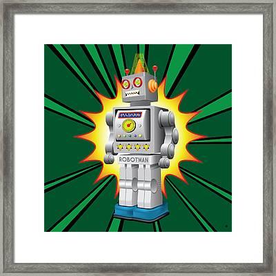 Robotman Framed Print by Gary Grayson