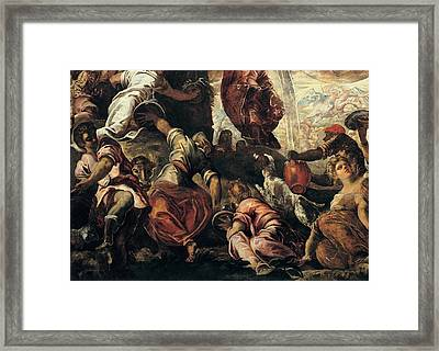 Robusti Jacopo Known As Tintoretto Framed Print by Everett