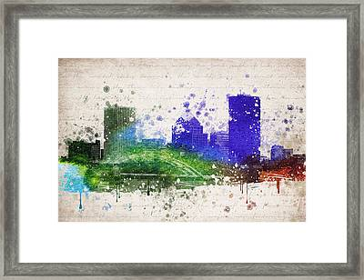 Rochester In Color Framed Print by Aged Pixel