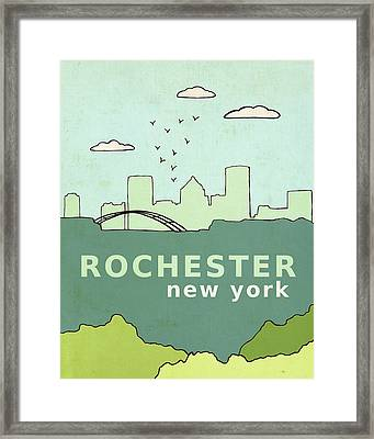 Rochester Framed Print by Lisa Barbero