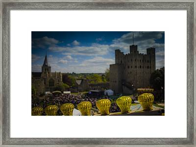 Rochester Medway Kent Framed Print by Dawn OConnor