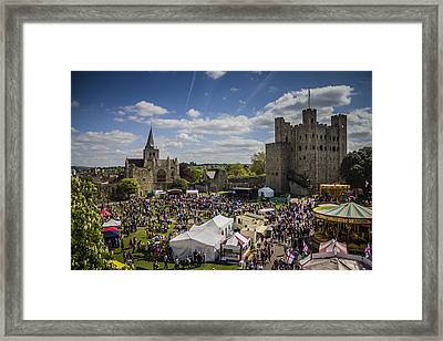 Rochester Sweeps Festival Framed Print by Dawn OConnor