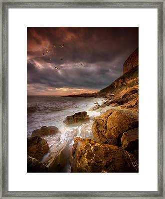 Rock - A - Nore Framed Print by Mark Leader
