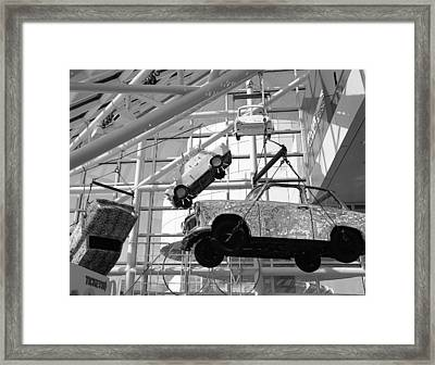 Rock And Roll Cars Framed Print by Jenny Hudson