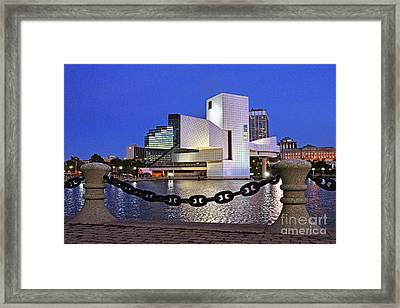 Rock And Roll Hall Of Fame - Cleveland Ohio - 1 Framed Print