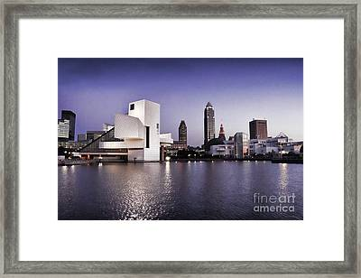 Rock And Roll Hall Of Fame - Cleveland Ohio - 2 Framed Print