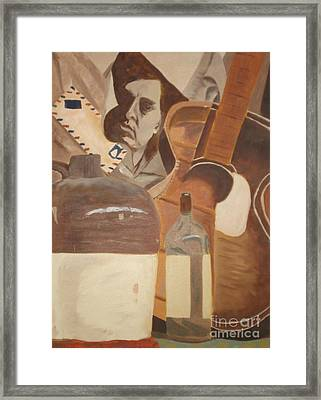 Rock And Roll Framed Print by Janet C Stevens