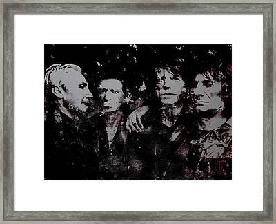 Rock And Roll Legends Framed Print