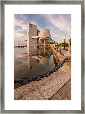 Rock And Roll Reflection Framed Print