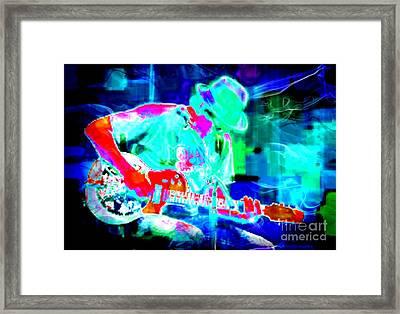 Rock Band Framed Print