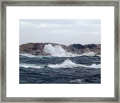 Rock Bound Coast Framed Print