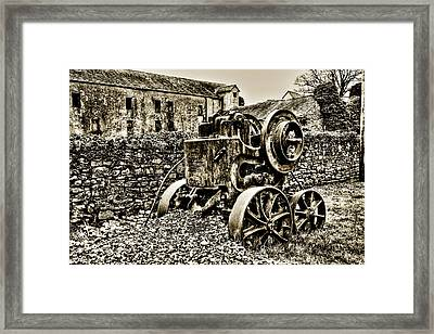 Rock Breaker Framed Print by Tony Reddington