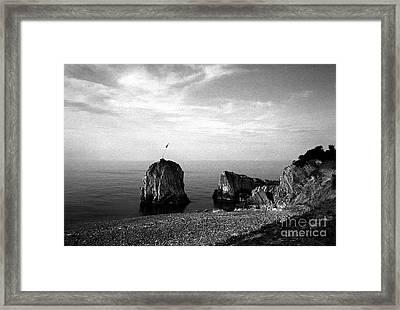 Rock Framed Print by Candido Salghero