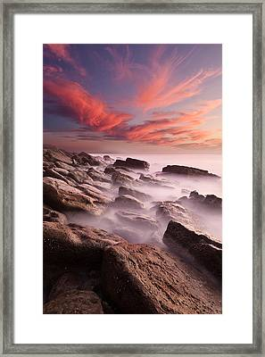Rock Caos Framed Print