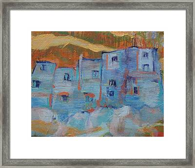 Rock City Abstract Framed Print