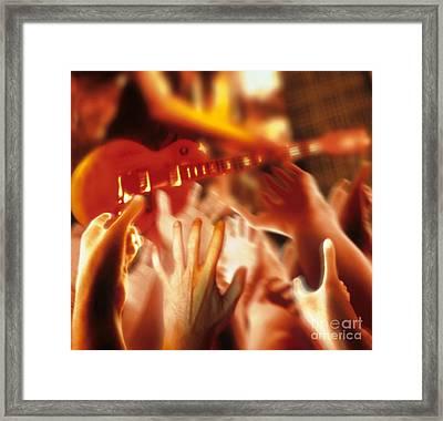 Rock Concert Framed Print by Novastock