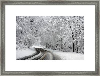 Rock Creek Park Framed Print
