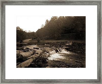 Rock Creek, Zoo Park National Zoological Park Framed Print by Litz Collection