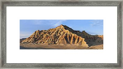 Rock Formation Bardenas Reales Navarra Framed Print by Albert Lleal