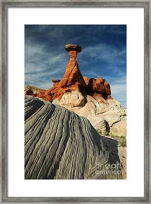 702a Rock Formation Framed Print by NightVisions