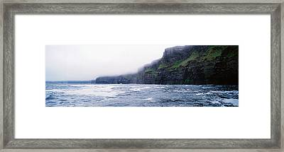 Rock Formations At The Waterfront Framed Print by Panoramic Images
