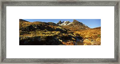 Rock Formations, Beinn Arthur Framed Print by Panoramic Images
