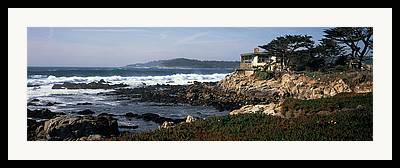 Buildings By The Ocean Photographs Framed Prints