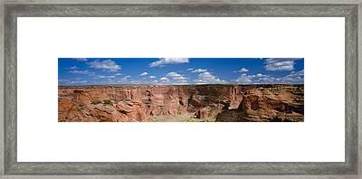 Rock Formations On A Landscape, South Framed Print
