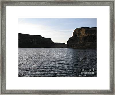 Rock Garden Framed Print by Greg Patzer