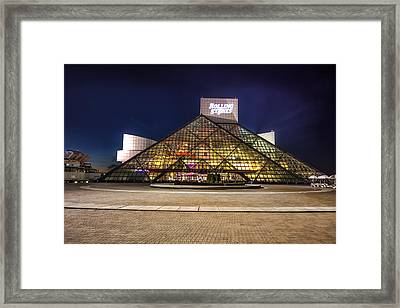 Rock Hall Framed Print