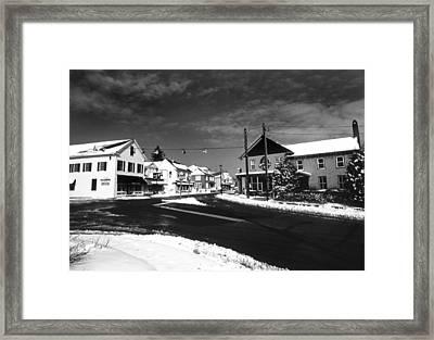 Rock Hall Maryland Framed Print by Skip Willits