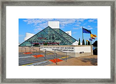 Rock Hall Of Fame Framed Print
