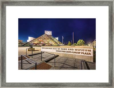 Rock Hall Plaza Framed Print
