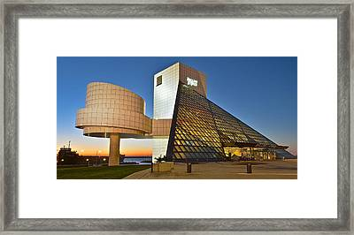 Rock Hall Stones Tribute Framed Print