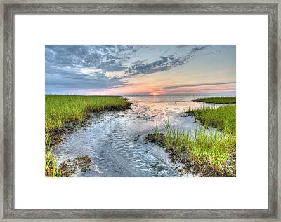 Rock Harbor Framed Print