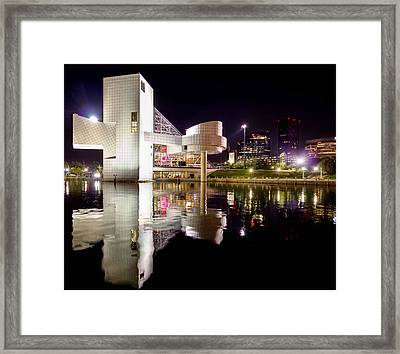 Rock In Retro Framed Print