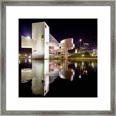 Rock In Retro Square Framed Print