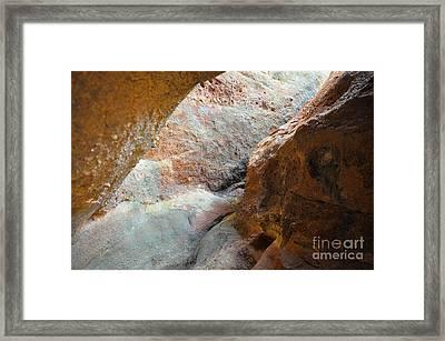 Rock Light Framed Print