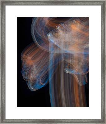 Rock Lightpaintings  - Pietersite II Framed Print